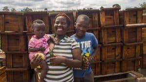 Futuro di miele: una cooperativa e 90 arnie per ripartire nella Lubombo region